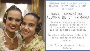 Sara Larrazábal: Fallera Mayor Infantil de Valencia