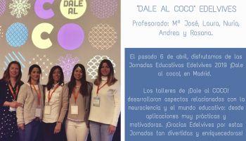 """Asistimos a """"Dale al coco"""" Jornada educativa organizada por Edelvives"""