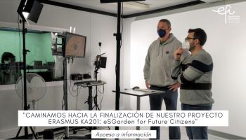 Caminamos hacia la finalización de nuestro proyecto KA201 eSGarden for Future Citizens